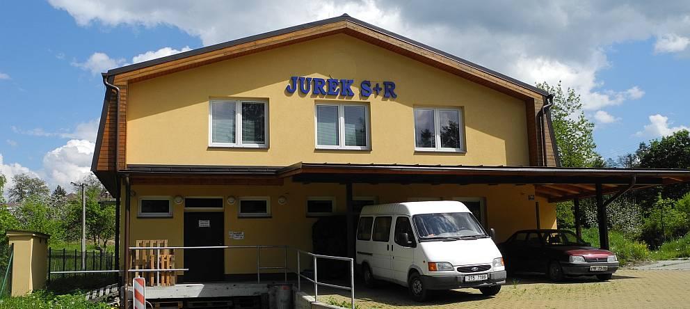 Sídlo firmy JUREK S+R s.r.o.